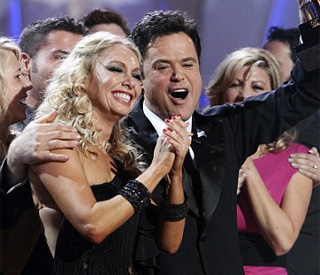 Donny Osmond wins 'Dancing With The Stars' crown