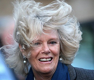 Duchess of Cornwall is swept away at food awards