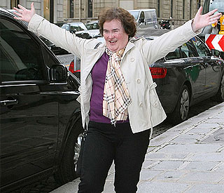 Simon Cowell's tribute to record-breaking Susan Boyle