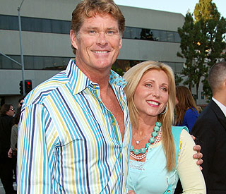 The Hoff hospitalized as ex-wife is arrested
