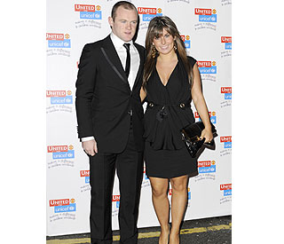 New parents Wayne and Coleen step out for charity