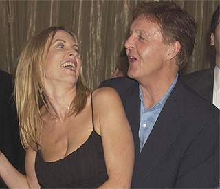 Macca on bright side of marriage to Heather Mills
