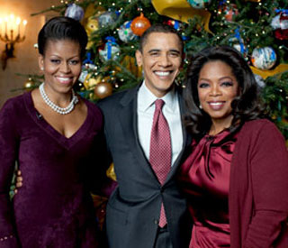 Oprah Winfrey's Christmas with the Obamas