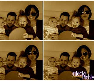 Fun family photos from Nicole Richie's private album