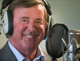 'I don't want to go,' says Terry Wogan at leaving do