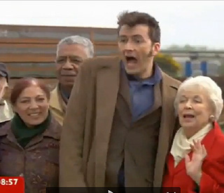 June Whitfield takes a shine to David Tennant