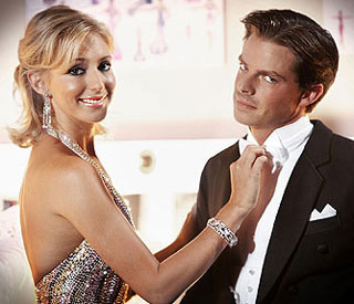 Ali Bastian waltzes to victory on Christmas Strictly