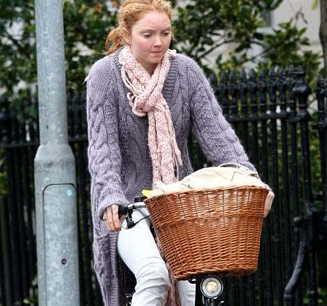Thieves target Lily Cole's £600 bicycle