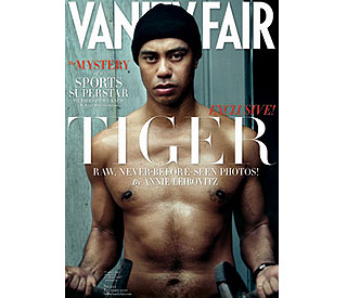 Topless Tiger Woods graces cover of Vanity Fair