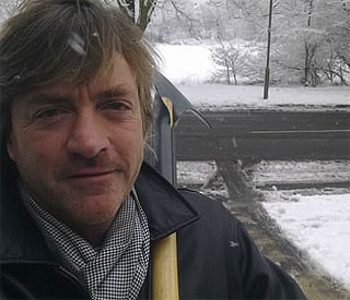 Richard Madeley shares snowy frustrations on Twitter