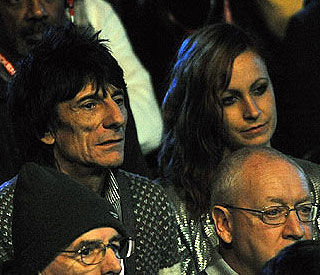 Ronnie Wood's latest Russian romance is over