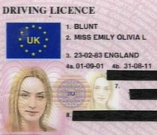 Emily Blunt escapes fine after officer laughs at licence