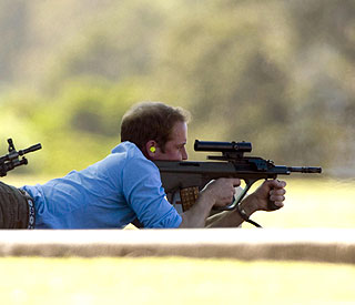 Prince William lays low in Sydney
