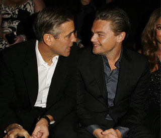 George Clooney and Leo DiCaprio give $1m to Haiti