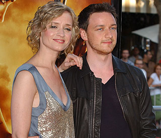 First child on the way for James McAvoy and wife