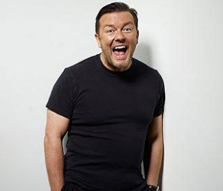 Ricky Gervais hints at US move, saying 'they get me'