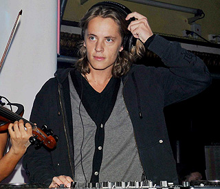 Nicolas Sarkozy's son Pierre shows of his DJ skills