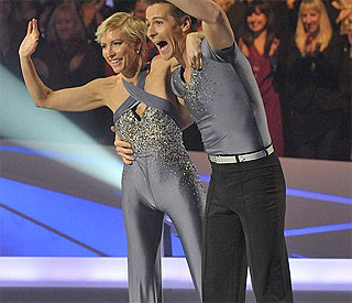 Heather Mills skates off Dancing On Ice
