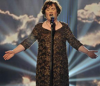 Susan Boyle opens up on finding her showbiz feet