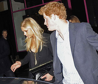 Prince Harry's Valentine's treat for Chelsy Davy
