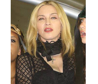 Queen of pop Madonna turns marriage referee