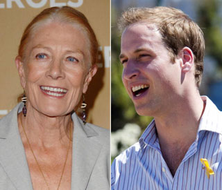 William to present BAFTA to Vanessa Redgrave