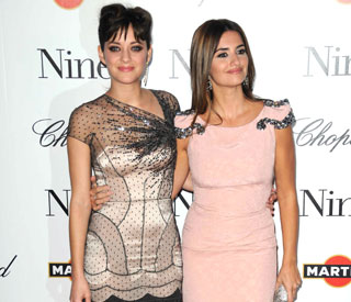 Marion Cotillard, Penelope Cruz bring 'Nine' to Paris