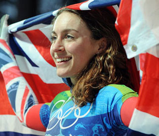 Olympic champ Amy Williams on newfound fame