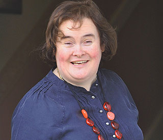 Laughter as Susan Boyle is mistaken for the Queen
