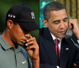 Tiger Woods gets call of support from Barack Obama