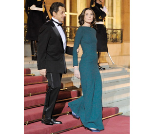 Carla Bruni more glam than ever at state dinner