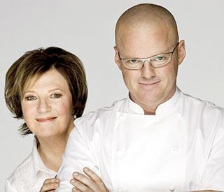 Delia Smith and Heston Blumenthal in Waitrose ads