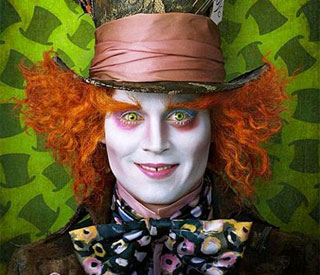 Johnny Depp: 'I would've played Alice!'