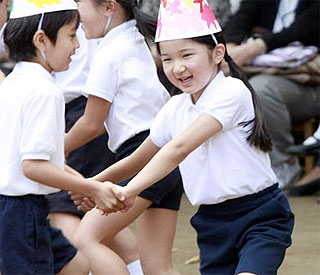 Princess Aiko kept home from school after panic attacks