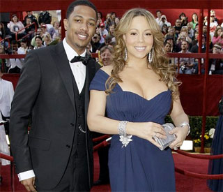 Mariah Carey sparks pregnancy reports at Oscars