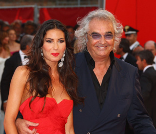 Flavio Briatore and Elisabetta welcome baby boy