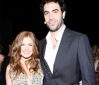 Sacha Baron Cohen and Isla Fisher tie the knot
