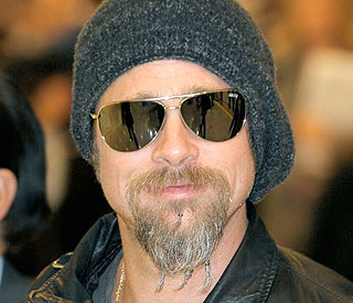 Brad Pitt reveals reason behind facial hair