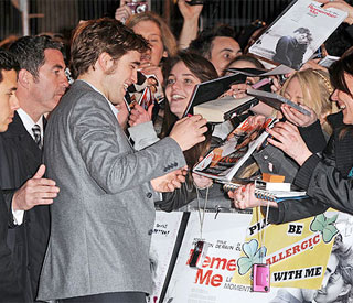 Rob Pattinson: 'Screaming fans are making me deaf'