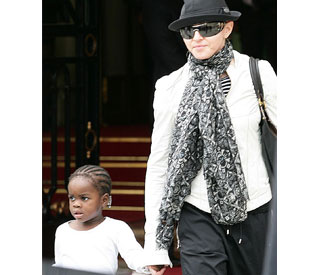 Madonna planning Malawi family reunion for Mercy
