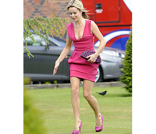 Amanda Holden: 'I work to fund my shoe habit!'