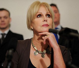 Gordon Brown apologises to Joanna Lumley