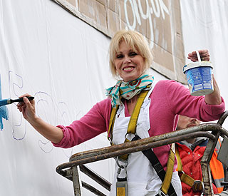 Kind-hearted Joanna Lumley touches lives of homeless
