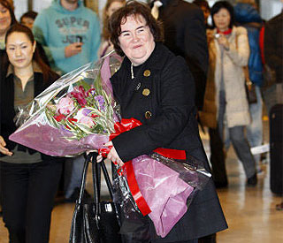 Susan Boyle as she turns 49: 'I can't believe my luck'