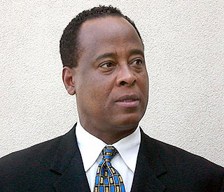 Michael Jackson doctor Conrad Murray in court