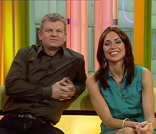 Adrian Chiles wants Christine Bleakley at ITV