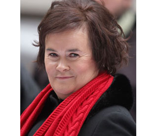 Susan Boyle in talks to sing for Pope at Scotland church