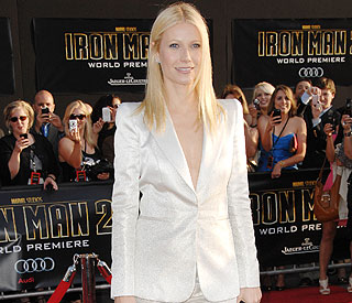 Gwyneth Paltrow: 'I cry in my trailer when I'm away from kids'