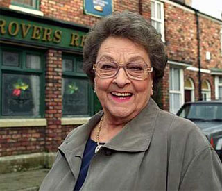 Coronation Street's Betty Driver in hospital