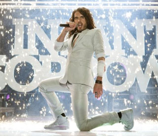 Russell Brand recording musical album